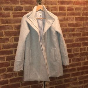 Beautiful Grey J Crew Coat